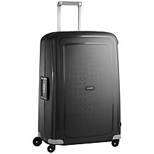 Buy Samsonite S'Cure 4-Wheel 81cm Extra Large Suitcase Online at johnlewis.com