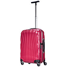 Buy Samsonite Cosmolite 2 4-Wheel 55cm Cabin Suitcase, Pink Online at johnlewis.com