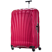 Buy Samsonite Cosmolite 2 4-Wheel 86cm Extra Large Suitcase, Pink Online at johnlewis.com