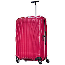 Buy Samsonite Cosmolite 2 4-Wheel 75cm Medium Large Suitcase, Pink Online at johnlewis.com