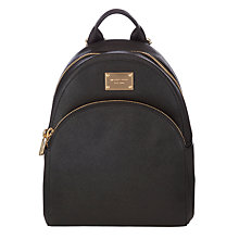 Buy MICHAEL Michael Kors Jet Set Small Leather Backpack Online at johnlewis.com