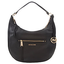 Buy MICHAEL Michael Kors Rhea Large Leather Zip Shoulder Bag Online at johnlewis.com