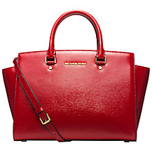 Buy MICHAEL Michael Kors Selma Leather Large Tote Bag Online at johnlewis.com