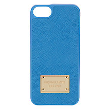 Buy Michael Kors Electronics Phone Cover, Blue Online at johnlewis.com