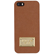Buy MICHAEL Michael Kors Saffiano Leather iPhone Cover Case Online at johnlewis.com