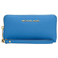 Buy MICHAEL Michael Kors Jet Set Travel Large Saffiano Leather Smartphone Purse Online at johnlewis.com