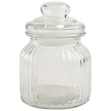 Buy John Lewis Glass Food Storage Jar, Small Online at johnlewis.com
