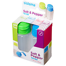 Buy Sistema Salt And Pepper To Go Online at johnlewis.com