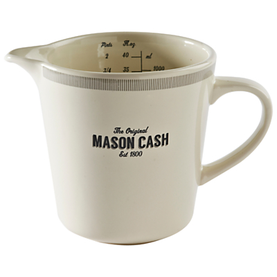 Mason Cash Baker Street Jug, 1L