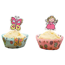 Buy Mason Cash Princesses Cupcake Cases and Toppers, Pack of 24 Online at johnlewis.com