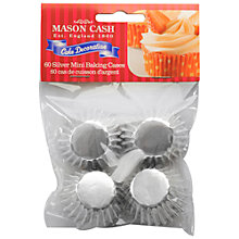 Buy Mason Cash Mini Foil Cupcake Cases, Pack of 60 Online at johnlewis.com