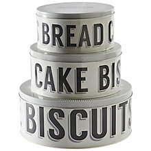 Buy Mason Cash Baker Street Nesting Cake Tins, Set of 3 Online at johnlewis.com