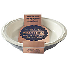 Buy Mason Cash Baker Street Round Perfect Pie Dish, Dia.24cm Online at johnlewis.com