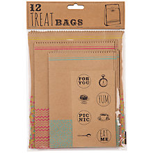 Buy Talking Tables Treat Bags with Stickers Online at johnlewis.com
