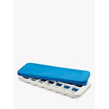 Buy Joseph Joseph Quicksnap Plus Ice Cube Tray, Blue Online at johnlewis.com