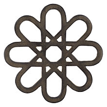 Buy John Lewis Fusion Flower Metal Trivet Online at johnlewis.com