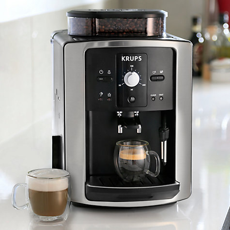 buy krups ea801040 espresseria bean to cup coffee machine. Black Bedroom Furniture Sets. Home Design Ideas