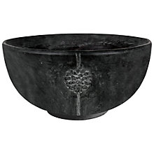 Buy Ivyline Tuscany Embossed Bowl, Grey Online at johnlewis.com