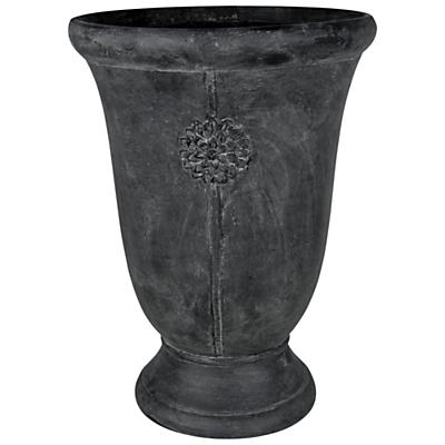 Ivyline Tuscany Embossed Urn, Grey