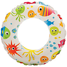 Buy Fish Print Swimming Ring Online at johnlewis.com