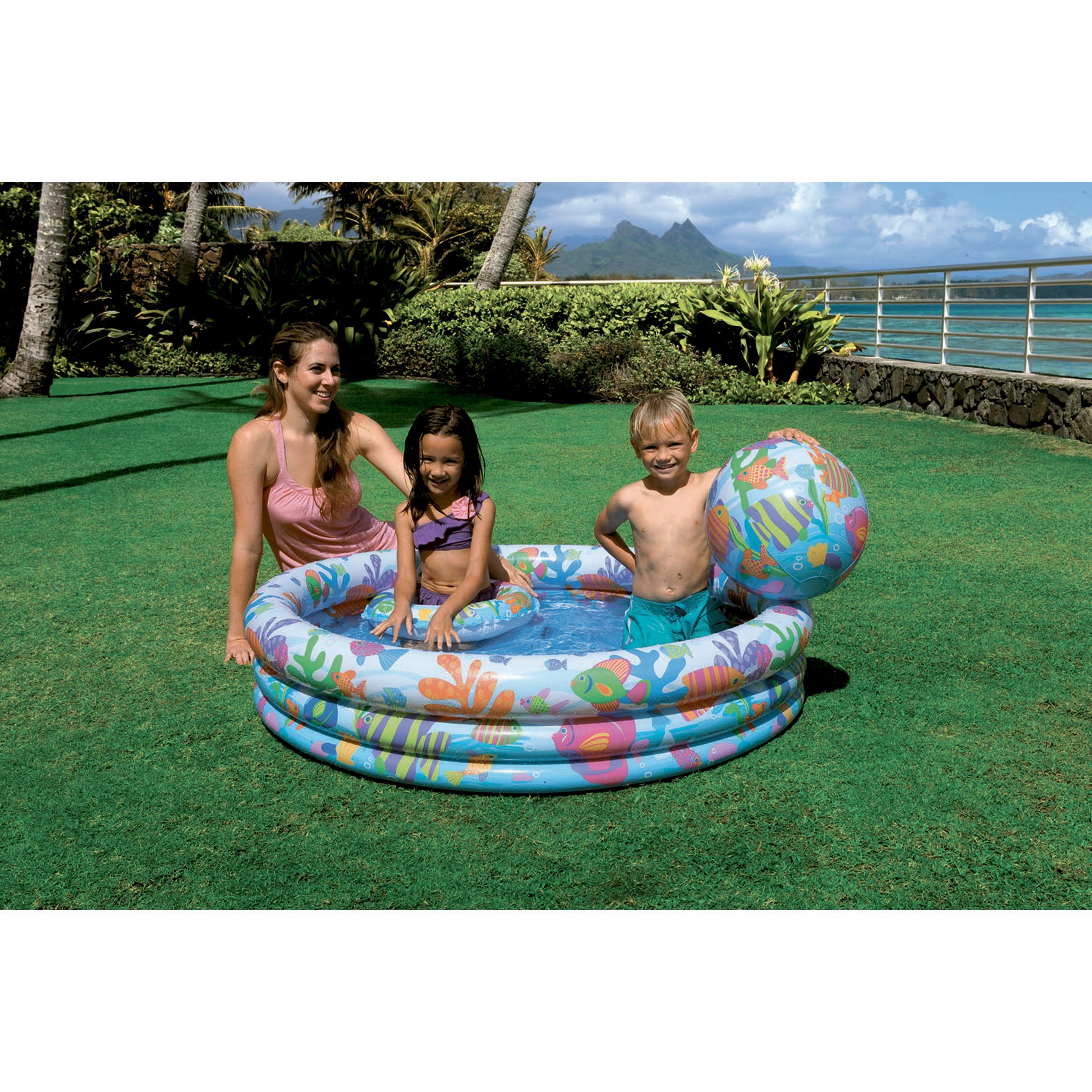 Intex Fishbowl Paddling Pool Set