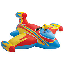 Buy Red Water Gun Spaceship Ride On Online at johnlewis.com