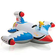 Buy White Water Gun Spaceship Ride On Online at johnlewis.com