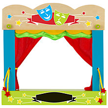 Buy Fiesta Crafts Finger Puppet Carry-Case Theatre Online at johnlewis.com