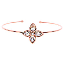 Buy Ted Baker Francy Gem Flower Cuff Online at johnlewis.com