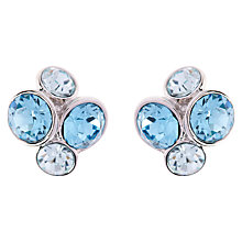 Buy Ted Baker Lynda Swarovski Crystal Cluster Stud Earrings Online at johnlewis.com