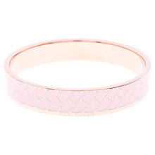 Buy Ted Baker Clowi T Pattern Enamel Bangle Online at johnlewis.com