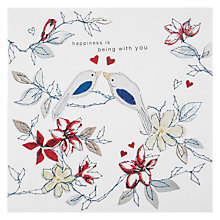 Buy Claire Love Birds Valentine's Card Online at johnlewis.com