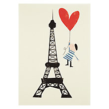 Buy Eiffel Tower Card Online at johnlewis.com