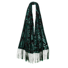 Buy East Bandhini Scarf, Pewter Online at johnlewis.com