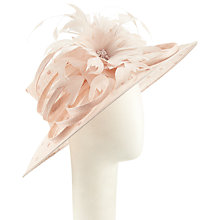 Buy John Lewis Vivi Spot Downbrim Occasion Hat, Pink Online at johnlewis.com