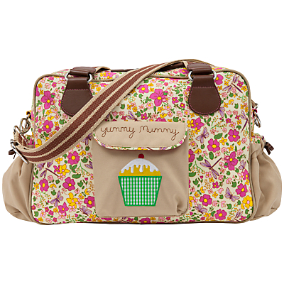 Pink Lining Yummy Mummy Changing Bag Cottage Garden