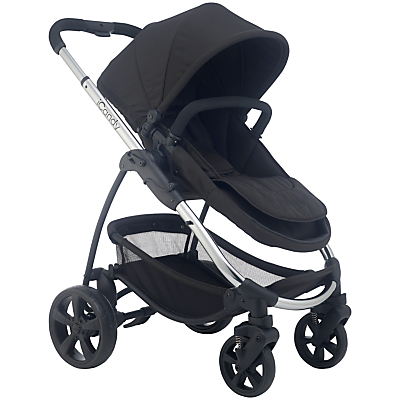 iCandy Strawberry 2 Pushchair with Chrome Chassis, Carrycot & Anthracite Hood