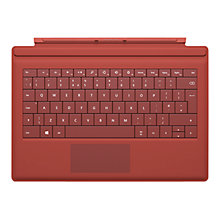 Buy Microsoft Surface Pro Type Cover, Keyboard Cover for Surface Pro 3 Online at johnlewis.com