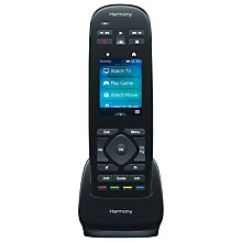 Buy Logitech Harmony Ultimate One Remote Control Online at johnlewis.com