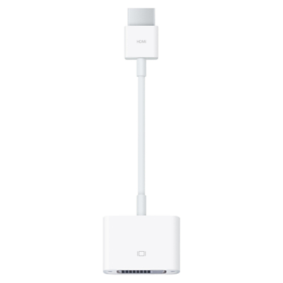 Image of Apple MJVU2ZM/A HDMI to DVI Adapter