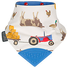 Buy Cheeky Chompers for Baby Joule Neckerchew Bib, Farmer Joules Online at johnlewis.com