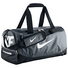 Buy Nike Team Training Max Air Bag, Small, Flint Grey/Black Online at johnlewis.com