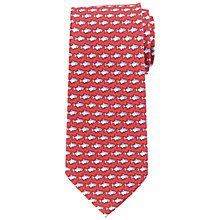 Buy John Lewis Silk Fish Print Silk Tie Online at johnlewis.com