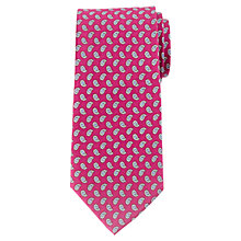 Buy John Lewis Foulard Print Silk Tie Online at johnlewis.com
