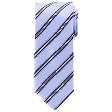 Buy John Lewis Regimental Stripe Silk Tie Online at johnlewis.com