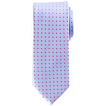 Buy John Lewis Matt Base Ditsy Flower Silk Tie Online at johnlewis.com