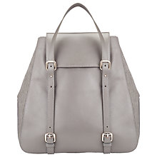 Buy Somerset by Alice Temperley Leather Rucksack Bag, Grey Online at johnlewis.com