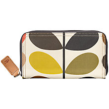 Buy Orla Kiely Etc Classic Multi Stem Zip Purse, Multi Online at johnlewis.com