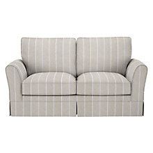 Buy John Lewis Nelson Sofa Bed, Lindarva Stripe Natural Online at johnlewis.com