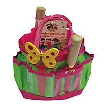Buy Little Pals Garden Growing Kit, Pink Online at johnlewis.com